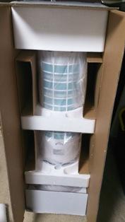冷風扇の箱